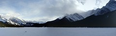 Wilderness ....  Rush Hour Moments (Mr. Happy Face - Peace :)) Tags: banff canmore art2018 rockymountains icefishing hiking nature scenery tranquiity naturelover snowcaps pano paroramica flickrfriday yyc flickrfriends happyfriday trees forest rockymountainhigh simplypleasures