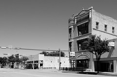Down in Ballinger (dangr.dave) Tags: architecture ballinger downtown historic runnelscounty texas tx securitytitlecompany bank