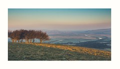 View of Lewes (bertie.carter.photography) Tags: lewes southdowns southease dawn landscapes landscape colourful eastsussex