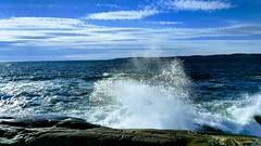 Verdens ende. Tjøme (sorlesh) Tags: tjøme moutmarka seaspray norway