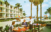 One of the Beautiful Motels in Southern Florida (Thomas Hawk) Tags: america florida oneofthebeautifulmotelsinsouthernflorida usa unitedstates unitedstatesofamerica vintage motel pool postcard swimingpool fav10
