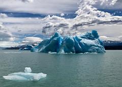 Blue Iceberg (MdeM1157) Tags: blueice iceberg glacier argentina santacruz iphone fotocompetition fotocompetitionbronze fotocompetitionsilver