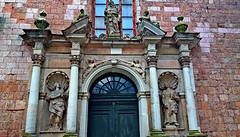 Portal of St.Peter's Church in Old Town of Riga, Latvia. January 12, 2018 (Aris Jansons) Tags: statues reliefs portal doorway church religion facade city capital riga rīga latvija latvia baltic europe 2017 outdoor