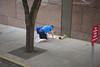 human compass (n.a.) Tags: koran quran islamic muslim prayer praying shoes socks seattle wa us candid street