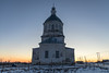 Old Russian Church. (Oleg.A) Tags: penzaregion church nature viewpoint snow simbukhovo orthodox architecture cross yellow saintmichaelthearchangelchurch shadow portrait landscape winter old brick outdoor rural materials villiage blue colorful interior building cathedral dome russia sky bell white orange sunset twilight catedral landscapes outdoors penzenskayaoblast ru