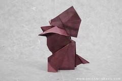 22/365 Puppy by Roman Diaz (origami_artist_diego) Tags: origami origamichallenge puppy 365days 365origamichallenge