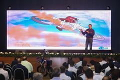 Palestra Motivacional o Piloto e Engenheiro Klever Kolberg para a Sipat de Itaipu - foto Nilton Rolin 06