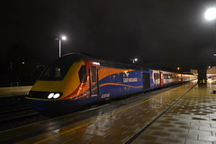 East Midlands Trains HST 43048 (Will Swain) Tags: london st international station 21st november 2017 greater capital city south east train trains rail railway railways transport travel uk britain vehicle vehicles country england english stagecoach group class 43 high speed power car midlands hst 43048 pancras leicester leicestershire