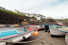 Coverack (Mike.Dales) Tags: coverack harbour fishingboats cornwall england