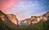 Tunnel View - Yosemite National Park (PaulSchliebs) Tags: america usa yosemite tunnel view sunset clouds pink sky nature halfdome el capitan canon
