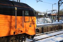 "67027 ""Charlotte"" @ Kidsgrove (uksean13) Tags: 67027 charlotte kidsgrove colas testtrain canon 760d efs1855mmf3556 railway diesel snow"