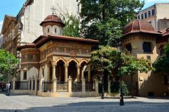 Stavropoleos Church (Gedsman) Tags: romania europe bucharest wallachia history historical tradition traditional capital beauty travel blueskies modern architecture