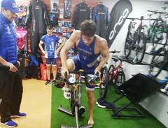 David Huertas triatlón Indoor team clavería triatlón World 1