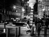 hustle & bustle (Web-Betty) Tags: nyc ny newyorkcity manhattan urban city newyork bigapple night blackandwhite bnw movement streetphotography
