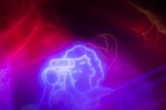 Video (davidhangell) Tags: slow slowshutter color saturated nikond5300 nikon d5300 dslr glow luminous bright contrast tv motion blur night nikkor kitlens lens longexposure bulb
