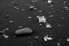Jökulsárlón Glacier Bay (virtualwayfarer) Tags: easternregion iceland is glacierbeach glacier glacialice ice blacksand iceandsand sea aftersunset sunset neardark diamondbeach jökulsárlónglacierlagoon jökulsárlón jokulsarlonbeach icelandic longexposure cold seascape coast waterfront iceberg landscape naturallandscape nature wild natural travelphotography visiticeland icelandicnature dusk sonyalpha a7rii alexberger virtualwayfarer roadtrip