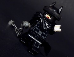 One Twisted Bat (-Metarix-) Tags: lego super hero minifig bat out hell dc comics comic universe metal scott synder batman who laughs evil joker jokerized custom purist