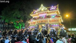 Paramekkavu Bagavathi Temple Vela