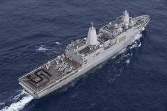 180129-N-BK384-199 (U.S. Pacific Fleet) Tags: usssandiegolpd22 sandiego lpd22 ldp22 sailors navy usnavy phibron3 deployment bk384 indoasiapacificregion thirdfleet 3rdfleet thirdfleetareaofresponsibility aor 3rdfleetaor pacificocean