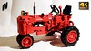 Winner  7070 (Classic Old Tractor) - Final Product Preview (hajdekr) Tags: lego buildingblocks assemblyinstructions guide tip help tips inspiration design instruction instructions toy model buildingbricks bricks brick builder buildingtoy buildingguide tractor old vintage classic red winner 7070 chinese china fake wheels tires tire tyre classical joyjoytown joytown joy handson preview