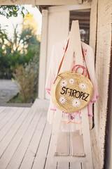 St-Tropez (ninasclicks) Tags: bag clothes summer beach wickerbag wickerbasket basket sttropez sainttropez