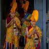 (Tenzin Samphel) Tags: buddhist monks blowing horns yellow hats yellowhats instruments believe prayer wellcome hisholiness dalailama trave travelnepal nipec kathmandu nepalphotoproject tenzinsamphelphotography nepal