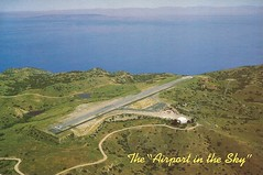 AVX01 (By Air, Land and Sea) Tags: airport postcard avx catalinaisland avalon california catalinaairport