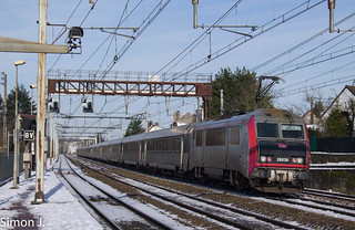 L'Intercités 3635 pour Cahors