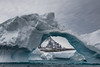 Iceberg Alley (Travels with Kathleen) Tags: antarctica iceberg ice water polar icebergalley pleneauisland mountain