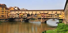 Ponte Vecchio, Florence (M McBey) Tags: ponte vecchio florence city river arno ancient bridge