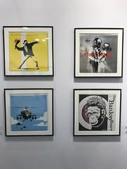 Banksy (antoineallain) Tags: artup artup2018 lille foire art contemporain banksy