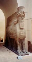 Louvre - Assyrian Lamassu (Stabbur's Master) Tags: france paris museumexhibit louvre lamassu lumasi wingedbulllamassu assyrianwingedbull sargonii dursharrukin louvrelamassu louvrelumasi louvrewingedbull wingedbulllumasi assyrian