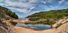 Menorca (Tatjana_2010) Tags: panorama menorca cala himmel wasser sand pflanzen