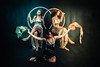 Cosmic Triumvirate. (MyNameIsActuallyKareem) Tags: cosmic portrait portraitphotography kareemberjaoui femaleportrait creative space fantasy london portraits sun moon