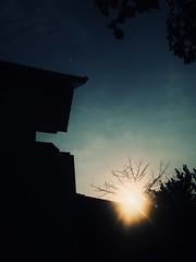 Home (Sài Gòn - 01665 374 974) Tags: begining 2018 morning sun sky shade shadow black snor home