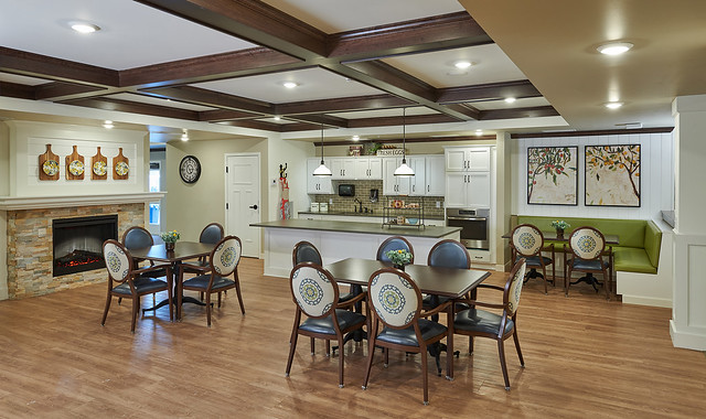 Dimensions Memory Care Dining Room