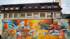 Graffiti Mural, Lucerne, Switzerland (jag9889) Tags: 2018 20180109 ch cantonlucerne cantonoflucerne centralswitzerland europe graffiti helvetia innerschweiz kantonluzern lu lozärn lucerne luzern mural painting schweiz stadtluzern streetart suisse suiza suizra svizzera swiss switzerland tagging zentralschweiz jag9889