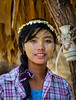 Portrait of Burmese woman (phuong.sg@gmail.com) Tags: asia asian asiatic beautiful beauty brunette burma burmese clothes colorful cosmetic culture ethnic face female festival girl happy holiday indochina journey laugh market myanmar national natural nature outdoor paste people poor portrait rural rustic shan smile thanaka tourism tradition traditional travel tribal tribe village villagers women working young