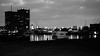 Antwerp - Camper (mauriceweststrate) Tags: antwerp antwerpen harbor harbour havenvanantwerp oldharbor ofantwerp havenantwerp zwartwit zwartenwit hoogcontrast monochrome monochroom highcontrast rx100 mauriceweststrate camper caravan trailer van campervan