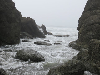 Ruby Beach at Olympic National Park in WA