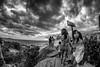 Na Pedra do Arpoador (mariohowat) Tags: pedradoarpoador arpoador pretoebranco pb brasil brazil bw blackandwhite blancoynegro fisheye samyang8mm riodejaneiro natureza