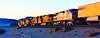 WB Z-train (Woodypug) Tags: bnsf seligmansub sunset ztrain kingman arizona atsf locomotive westbound