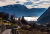 Chiesa di San Lorenzo, Borgo di Frapporta. (--marcello--) Tags: tenno lago garda lagodigarda trentino italy italia landscape paesaggio panorama nature