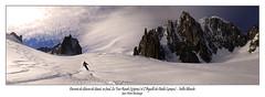Glacier du géant, Vallée Blanche (dibona38) Tags: valléeblanche chamonix skiderandonnée montblanc helbronner aiguilledumidi poudreuse