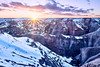 A Winter Badlands Sunset (davidgevert) Tags: d800 nikond800 nikon24mmf35pce nikonpce nikontiltshift landscape winterlandscape landscapephotography sunsetlandscape sunset wintersunset badlands badlandsnationalpark southdakota davidgevert gevertphotography