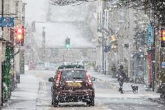 Snow on Duke Street (StephenL in Settle) Tags: snow dukestreet uk winter northyorkshire settle