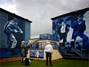 Bogside murals (teedee.) Tags: bogside murals wall painting londonderry derry bandsman composite samsung photoshop glenfada park nireland ireland british soldier