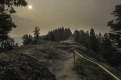 Smokey Morning at Old Fort Point (claudiu_dobre) Tags: old fort point hiking trail jasper national park alberta landscape nature canada ca
