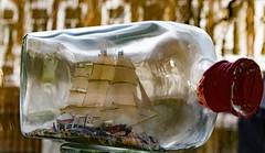 Whaler caught in a bottle [explored] (Peter Branger) Tags: madebyme smileonsaturday shipinabottle bottle ship whaler canoneos7dmarkii canonef24105mmf4lisusm