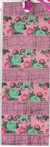 Teal Rose Bookmark
